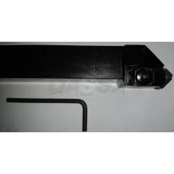 Porta Insertos Ext. Ceramica CSSNL 3225 P12-IC4