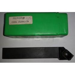 Porta Insertos Ext. Ceramica CSSNL 2525 M12-08