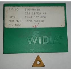 Inserto Carburo TNMA 332 (160408) HK15